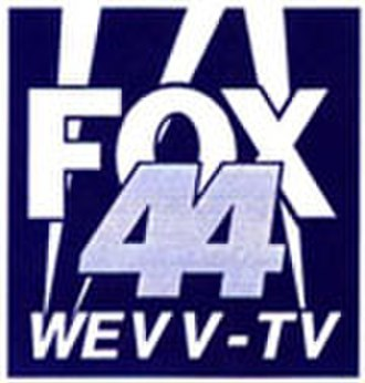 WEVV-TV - WEVV logo used from 1992 to 1995, as a Fox affiliate.