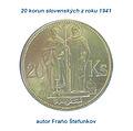 Fraňo Stefunko minca sv. Cyrila a sv. Metoda.jpg
