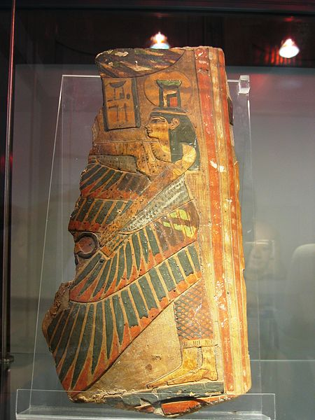 File:Frammento di sarcofago, III Periodo Intermedio, XXI dinastia, legno.JPG
