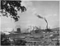 France. Shown here is the Voelklingen Iron and Steel Works, largest steel mill in the Saar. In addition to numerous... - NARA - 541686.tif