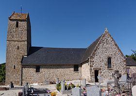 église Orgères la Roche GR22