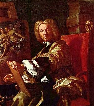 Francesco Solimena - Self-portrait, 1730