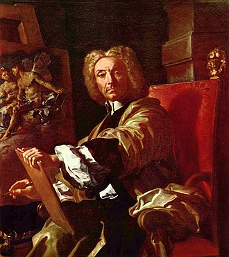 Francesco Solimena - Self-portrait, 1730