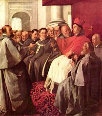 Saint Bonaventure at the Council of Lyon
