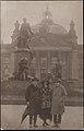 Frank Davison with Marsden Hartley and Rita Matthias in front of the Reichstag. Berlin, 1922.jpg