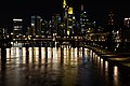 Frankfurt am Main city center from Ignatz-Bubis-Brücke at night 2020-03-22 pixel shift 04.jpg