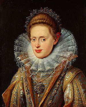 Anna of Tyrol - Image: Frans Pourbus d. J. 002