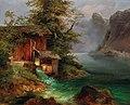 Franz Steinfeld - Mill on Lake Hallstatt.jpg