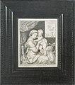 Franz de Hamilton - Trompe l'oeil af et indrammet kobberstik af Maria med Barnet - KMSst415 - Statens Museum for Kunst.jpg