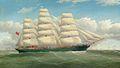"Frederick Tudgay - The three-masted clipper ship ""England's Glory"".jpg"