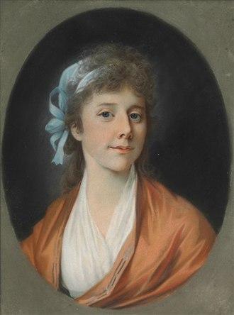 Steen Andersen Bille (1751–1833) - Frederikke Vilhelmine Bille