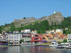 f5bb2dd3 Fredriksten fortress Norway seen from Halden harbor.jpg