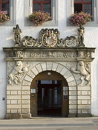 Silver Road - Portal in Freiberg