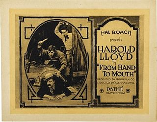 <i>From Hand to Mouth</i> 1919 film