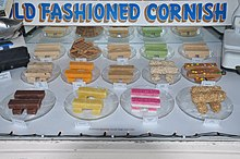 14 different kinds of fudge, in a wide variety of colors