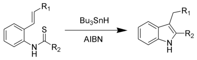 The Fukuyama indole synthesis