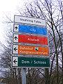 Fulda, Stadtring- Lokale Hinweisschilder.JPG