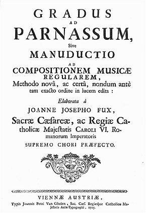 Gradus ad Parnassum, title page (Source: Wikimedia)