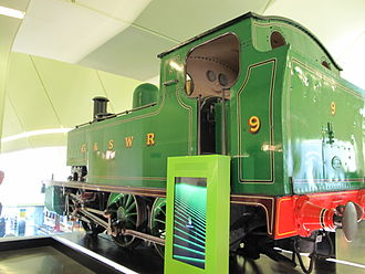 G&SWR 5 Class - No.9 at the Riverside Museum Glasgow, 19 August 2012