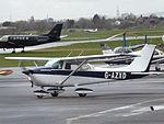 G-AZXD Cessna Skyhawk 172 (26340942272).jpg