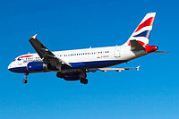 G-EUYP - A320 - British Airways