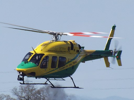 G-WLTS Bell 429 Helicopter Wiltshire Air Ambulance