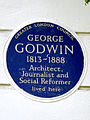 GEORGE GODWIN 1813-1888 Architect Journalist and Social Reformer lived here.jpg