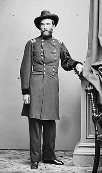 Le major général Dodge entre 1860 et 1865.