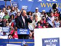 GMU Mason Votes Fred Thompson at Fairfax rally (2845772457).jpg