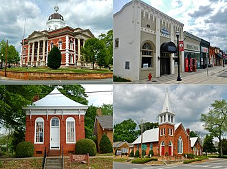 Greenville, Georgia - The Greenville Historic District was added to the National Register of Historic Places on March 16, 1990.