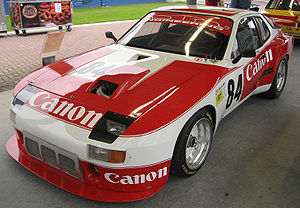 Richard Lloyd Racing - A Porsche 924 Carrera GTR campaigned by GTi Engineering.  Canon entered motorsports by sponsoring this car.