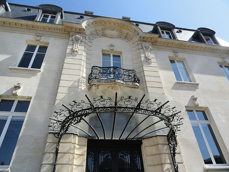Front of Maison Gallice in Épernay