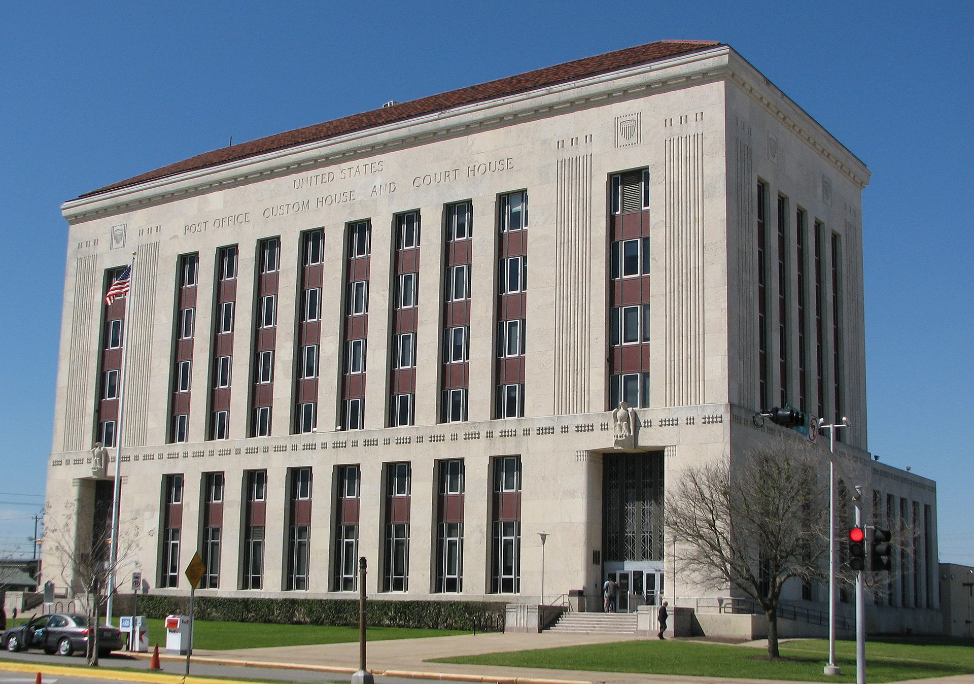 Galveston United States Post Office and Courthouse - Wikipedia