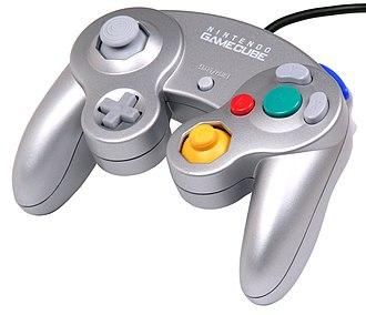 GameCube accessories - Silver GameCube controller