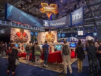 Street Fighter V - Street Fighter V / PlayStation promotion at gamescom 2015