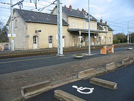 The Saint-Sébastien railway station
