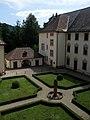 Garten des früheren Klosters Gengenbach, heute Hochschule Offenburg, Campus Gengenbach.jpg
