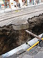 Gas pipeline reconstruction in Myslíkova Street, Prague (003).JPG