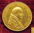 Gaspare morone, medaglia di alessandro VII, 1657, oro 2.JPG