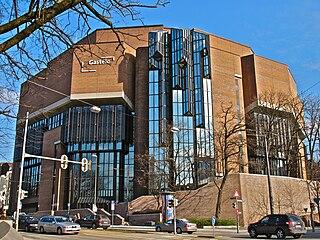 Gasteig architectural structure