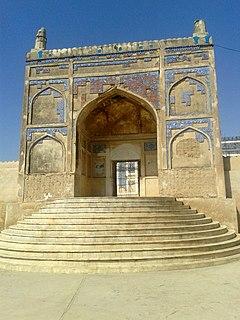 Khudabad City in Sindh, Pakistan