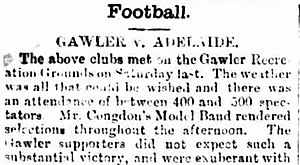 Gawler Football Club - Image: Gawler Football Club, Bunyip, 1889