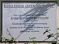 Gedenktafel Schützallee 136 (Zehld) Karl Schmidt-Rottluff.JPG