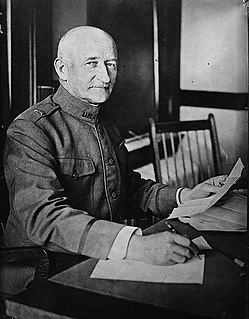 """Clarence Ransom Edwards United States Army general commanding 26th """"Yankee"""" Division in WWI"""
