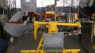 General Electric T58 - Image: General Electric T58 turboshaft