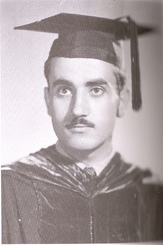 George Habash - George Habash received an undergraduate degree in medicine from the American University of Beirut, 1951.
