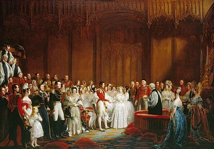 George Hayter - The Marriage of Queen Victoria, 10 February 1840 - WGA11229.jpg