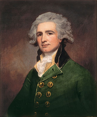 Robert Abercromby of Airthrey - Robert Abercromby painted in 1788 by George Romney