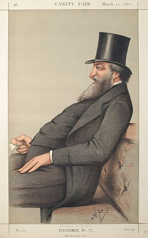 George Ward Hunt - Hunt as caricatured by Carlo Pellegrini in Vanity Fair, March 1871