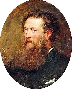 George Vicat Cole - Portrait of Cole by Arthur Stockdale Cope (1886)